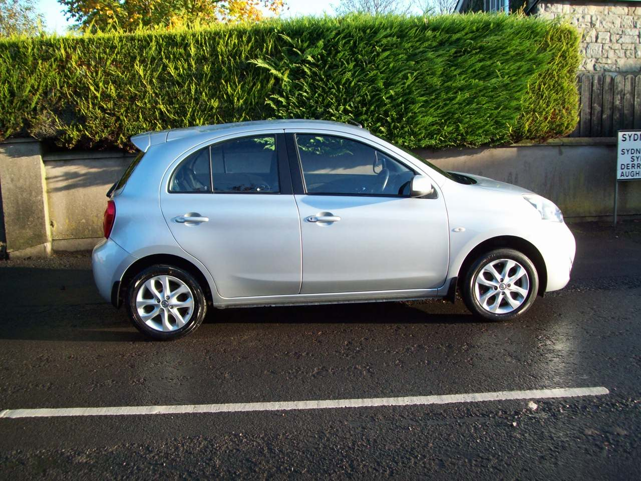 2013 Nissan Micra  CVT – Derek Loane Motors full